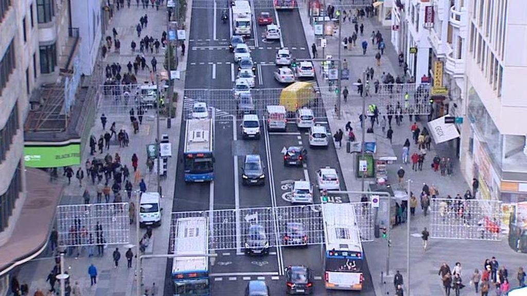 Así es la nueva Gran Vía de Madrid