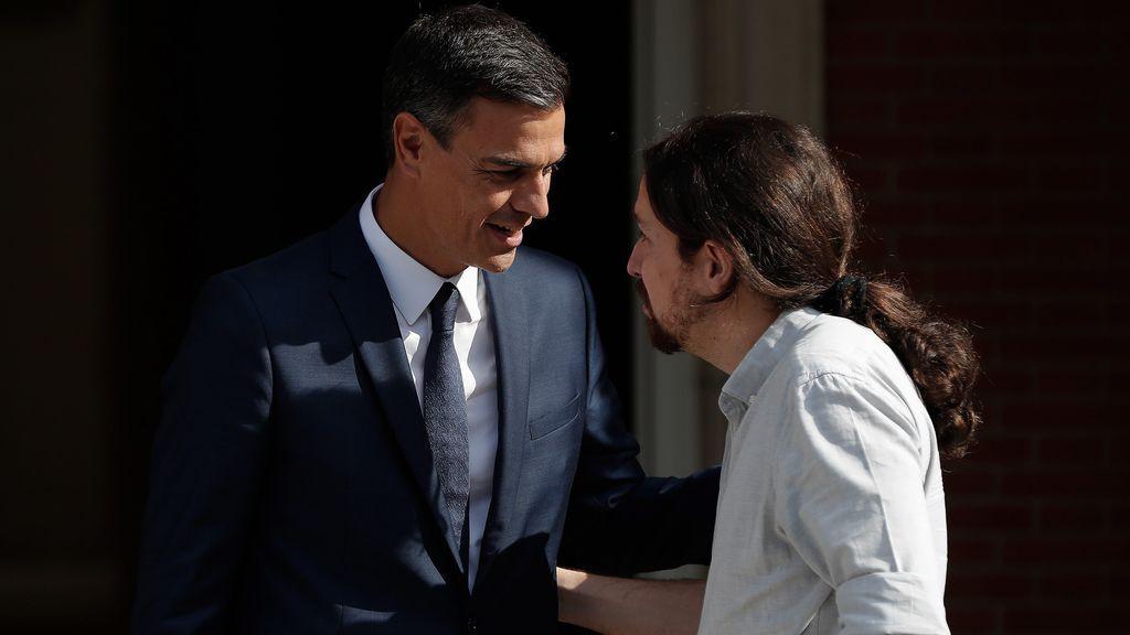 """Sánchez replica a Iglesias """"que se tome su tiempo"""" ante su presión para unas elecciones anticipadas"""
