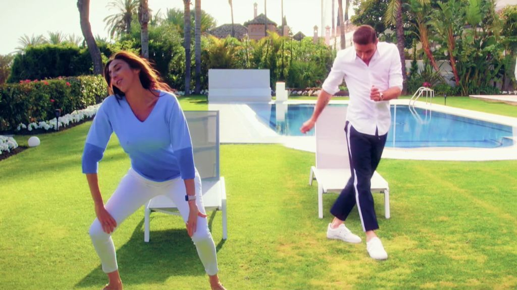 Joaquín pone a bailar a todos los invitados de Bertín a ritmo de 'Hasta que se seque el Malecón