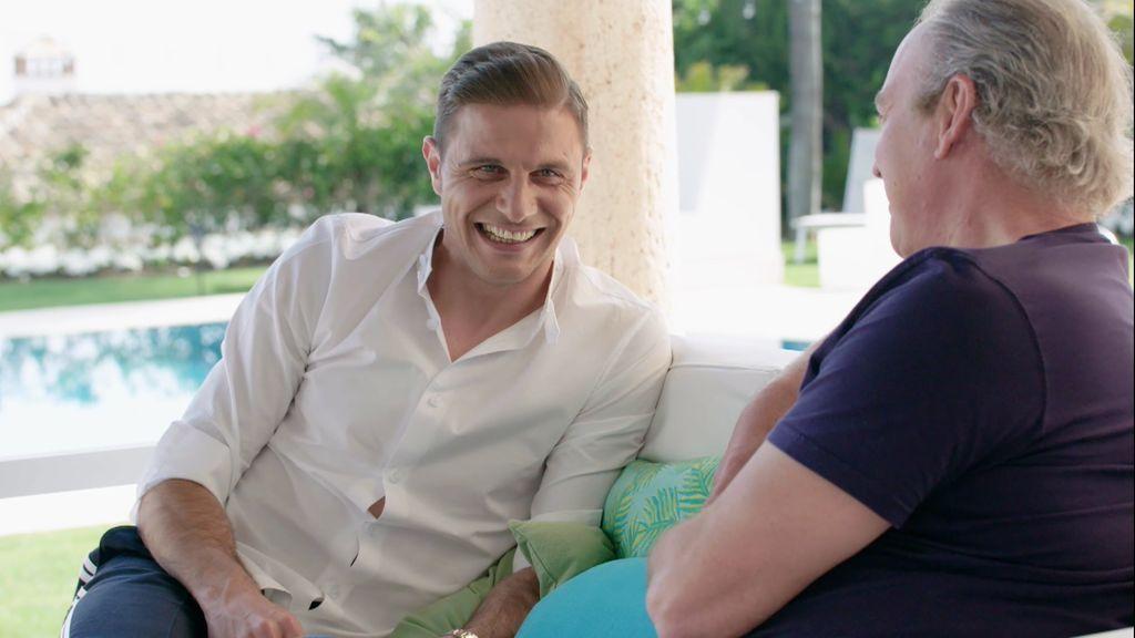 """Joaquín recuerda la comida de presentación con su suegra: """"Yo quería pedir el postre cuanto antes"""""""