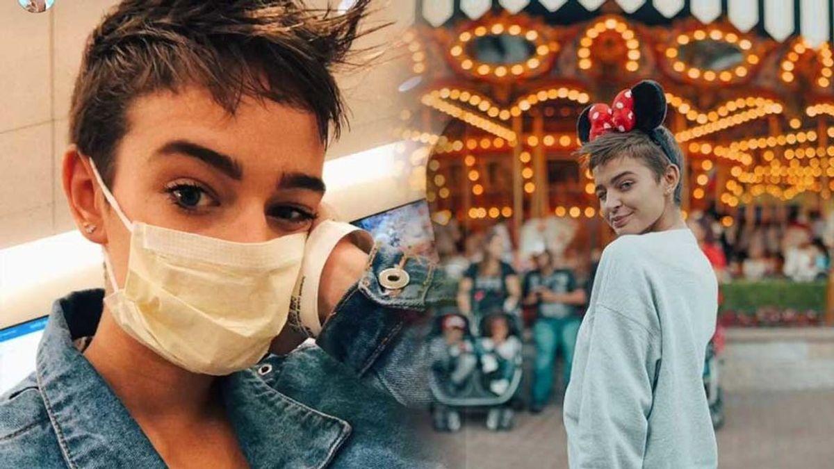 Laura Escanes preocupa a sus fans con una foto en el hospital y mascarilla