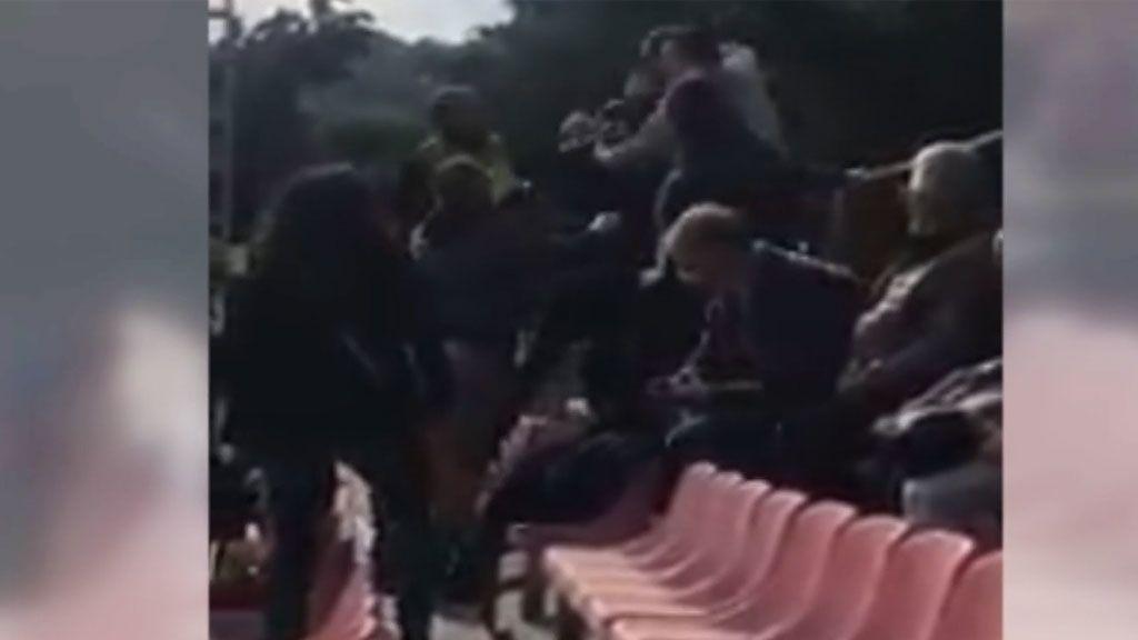 Batalla campal entre padres en un partido de fútbol infantil en Murcia