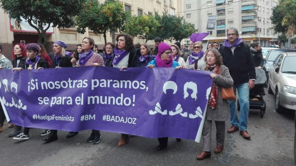 Manifestación del 25N en Badajoz