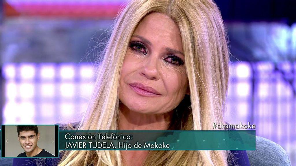 """Javi Tudela emociona a su madre en directo: """"Estamos para apoyarte y quererte"""""""