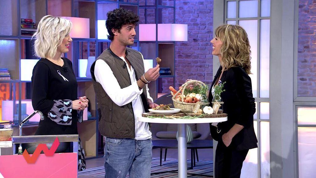 El conejo, la carne más sana: Jorge Brazález lo prepara en escabeche