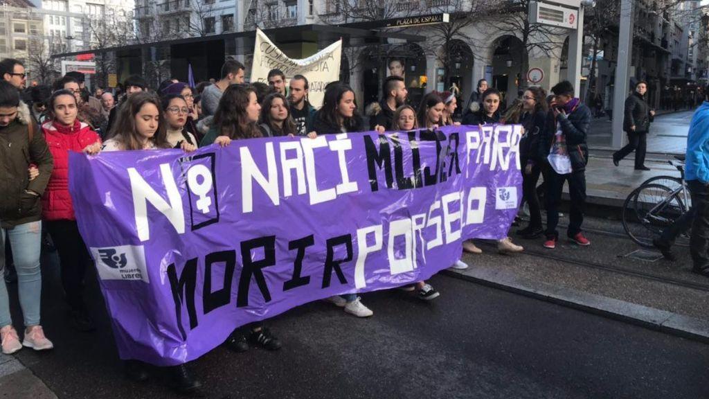 Manifestación del 25N en Zaragoza