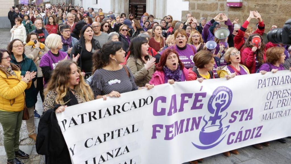 Manifestación de 25N en Cádiz