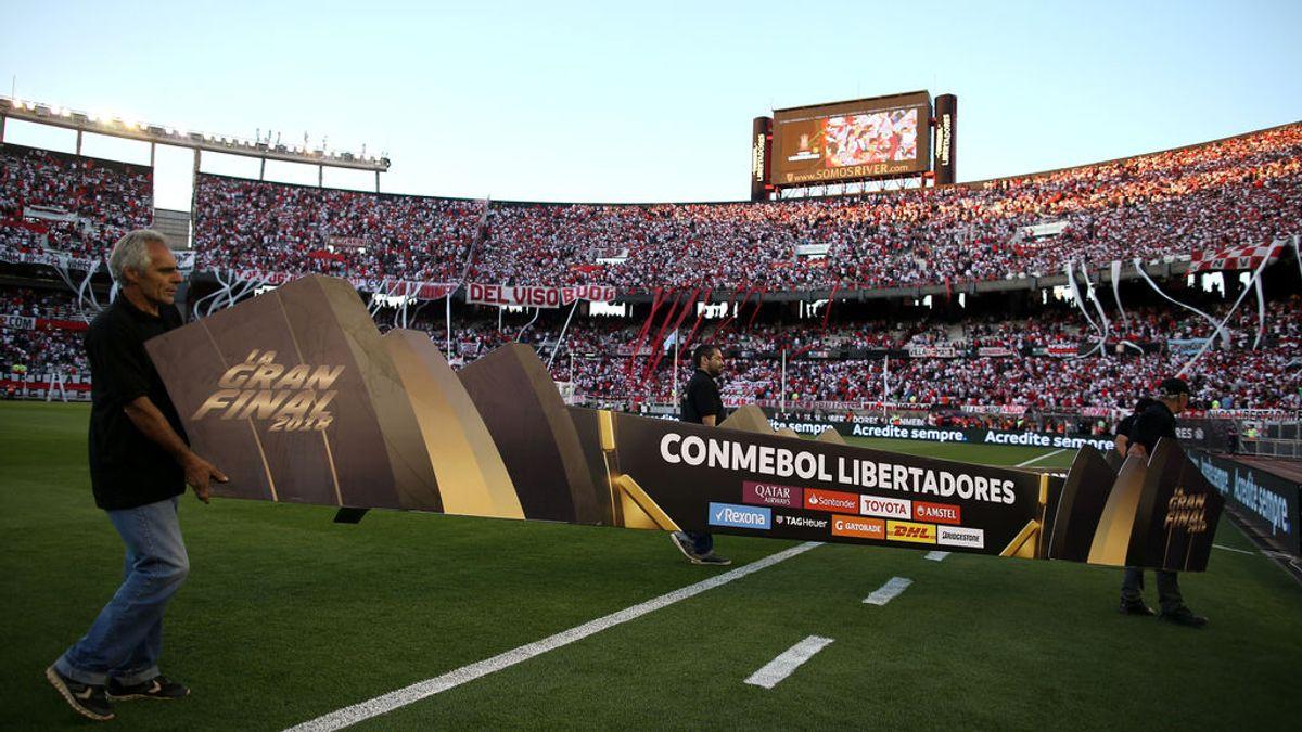 La CONMEBOL anuncia que se aplaza la final de la Copa Libertadores