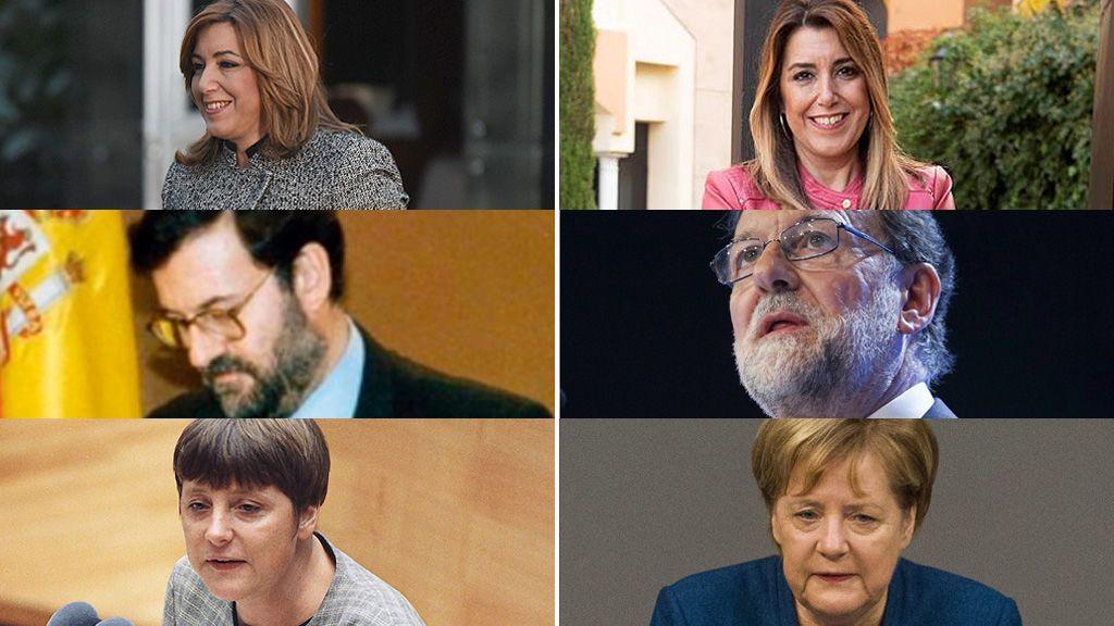 El antes y el después: así sienta (y cambia) la política a los políticos