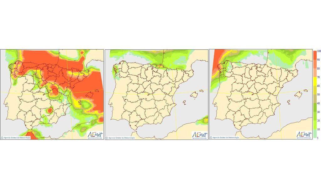 mapas precipitaciones