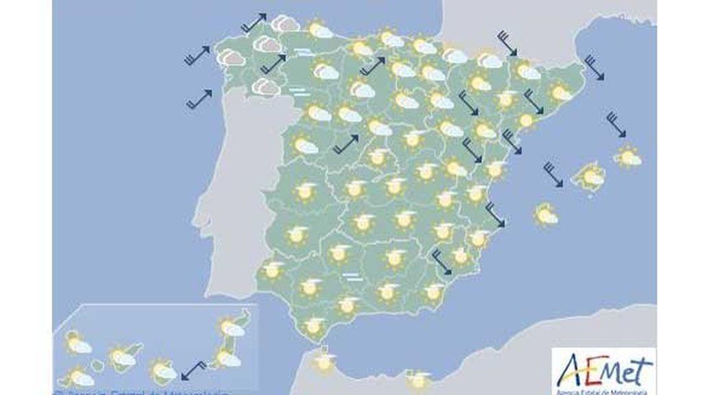 Mapa martes