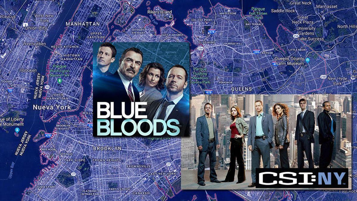 Paseamos por Nueva York de la mano de los protagonistas de 'CSI' y 'Blue Bloods' en la semana #BlueEnergy