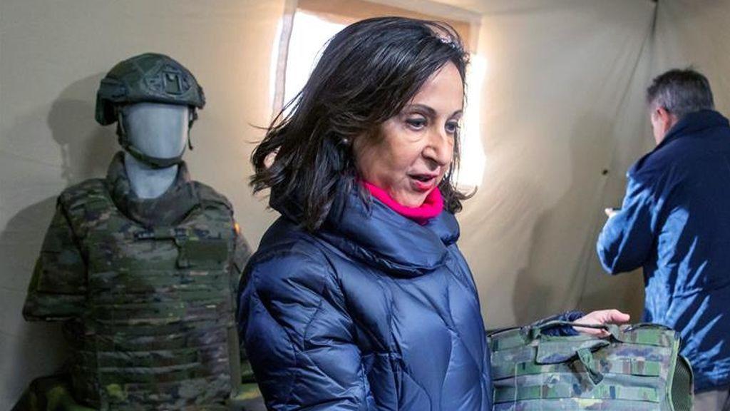 España podría ser el primer país con chaleco adaptado a la constitución femenina en las Fuerzas Armadas