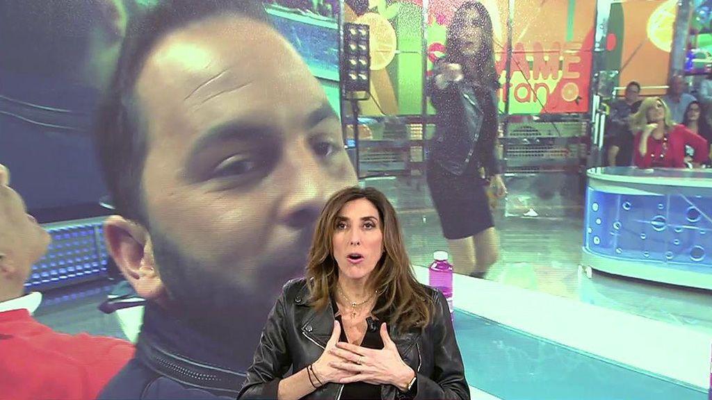 """El surrealista pique de Paz Padilla y Antonio Tejado: """"Estás haciendo una porquería de programa"""""""
