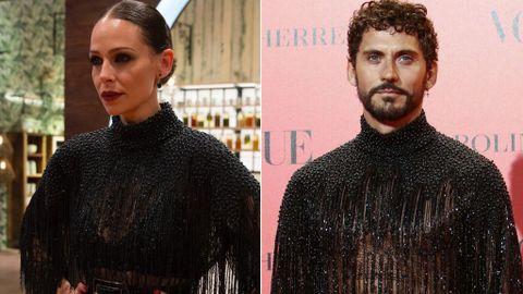 332a36f0d El  quién lo lleva mejor  definitivo  Paco León y Eva González se copian el  vestido y quieren que opines