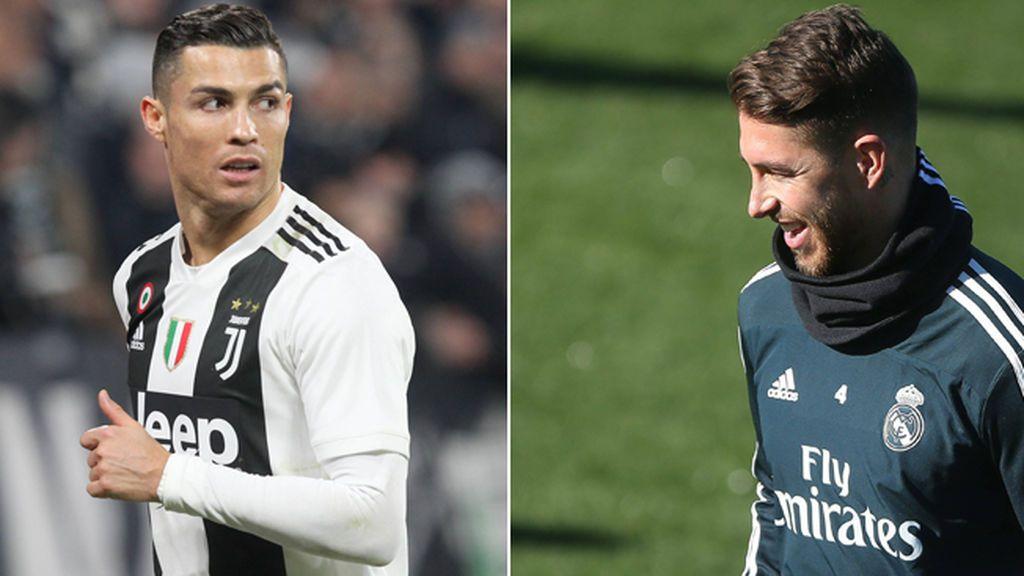 El curioso tuit idéntico de Cristiano, Ramos y Benzema en la vuelta de Champions… ¿comparten community manager?