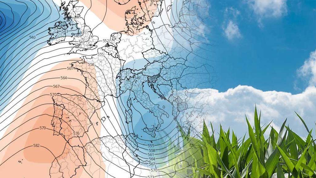 Sol de día, heladas de noche: el anticiclón dispara la amplitud térmica y bloquea las lluvias