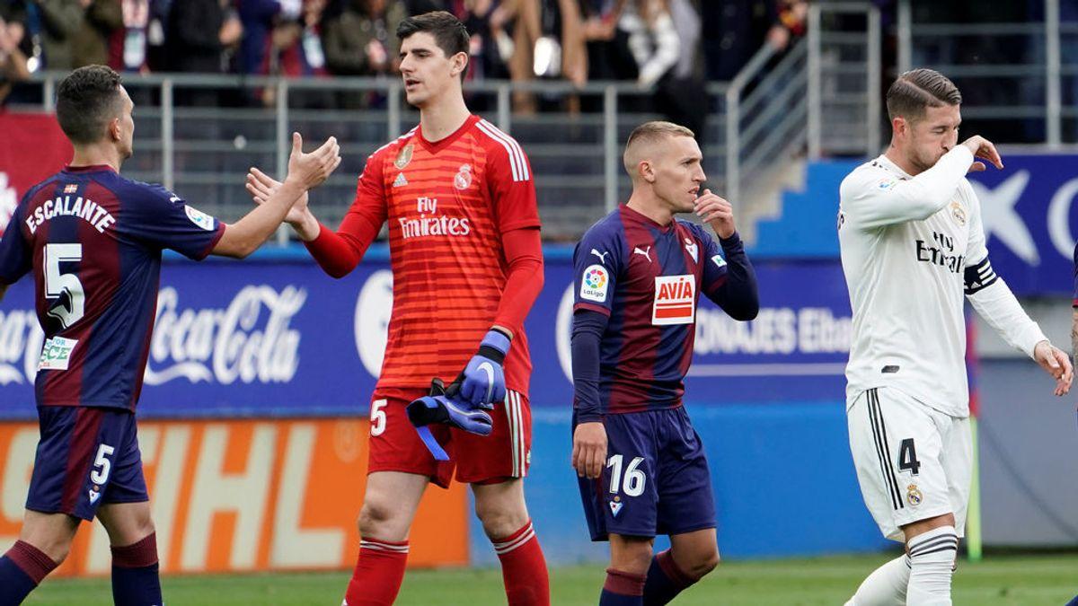 La última vez que el Madrid quedó fuera de Europa llevaba un punto más a estas alturas de temporada