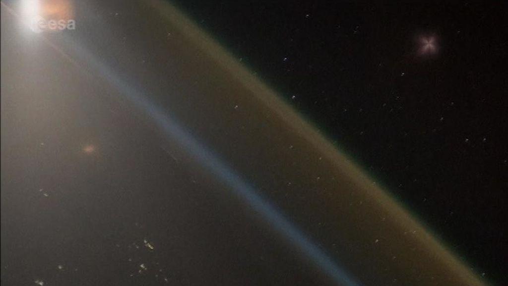 El maravilloso espectáculo de un lanzamiento desde el espacio