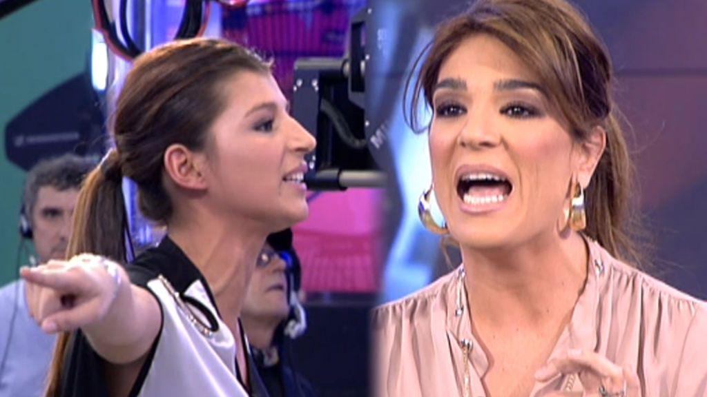 El primer gran enfrentamiento de Raquel Bollo y Aguasantas en 2014