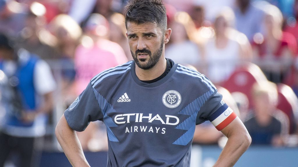 David Villa dice adiós al New York City