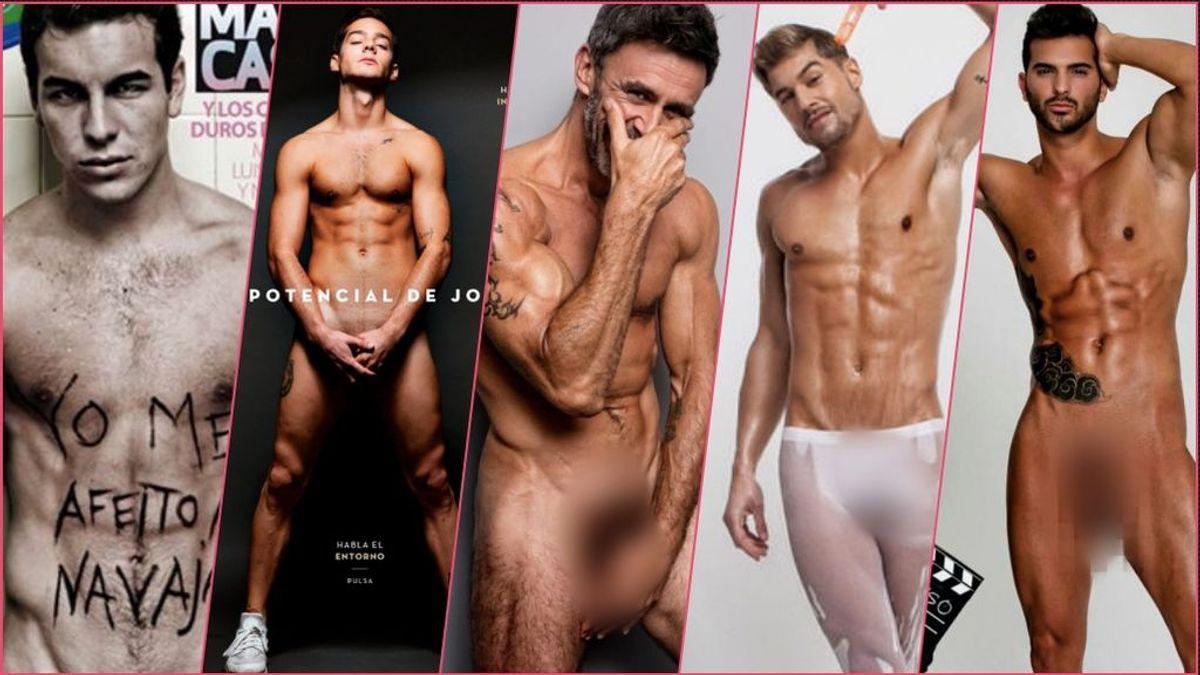 De Alonso Caparrós a Joel Bosqued: Ellos también posan 'hot' en las revistas