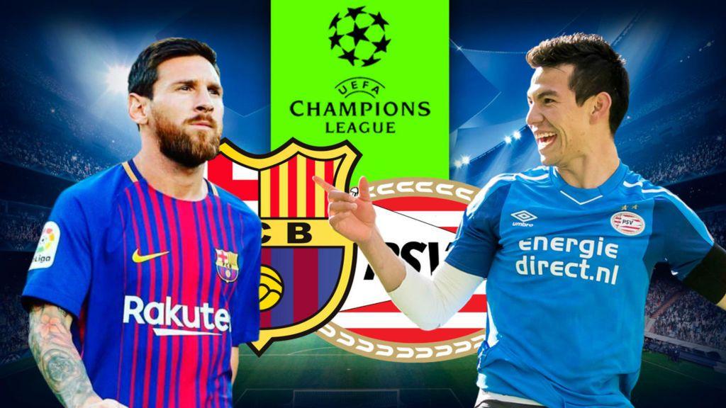 ¡Pronóstica en la Super Cuatro el PSV - Barcelona!