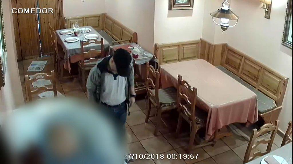 Imágenes exclusivas: Así se escondía César Román en Zaragoza
