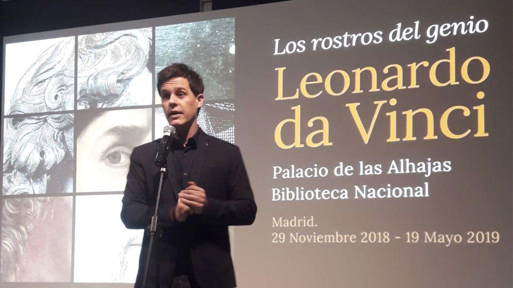 Mediaset España, media partner de la exposición 'Leonardo da Vinci: los rostros del genio',  comisariada por Christian Gálvez