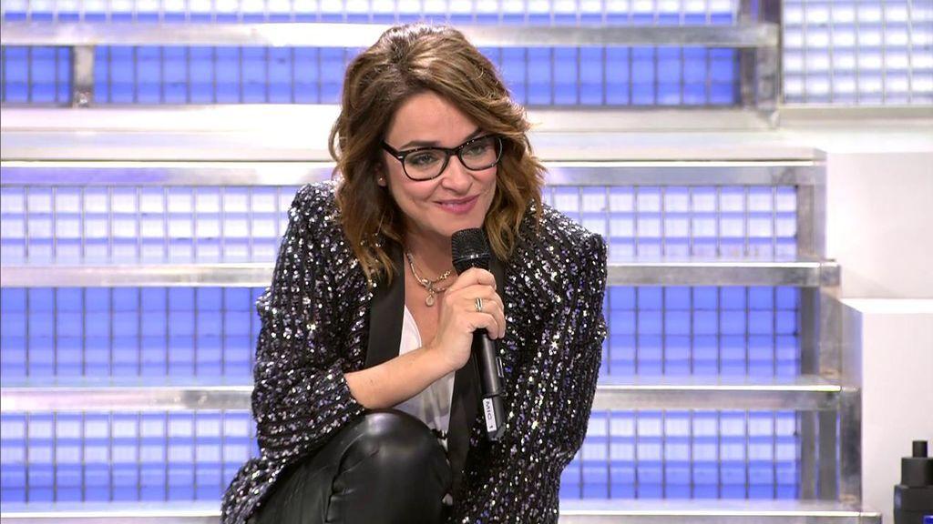Toñi Moreno termina al borde las lágrimas en su primera final de 'MyH'