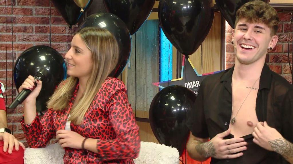 El escote de Fernando Jaso triunfa en el aniversario de mtmad