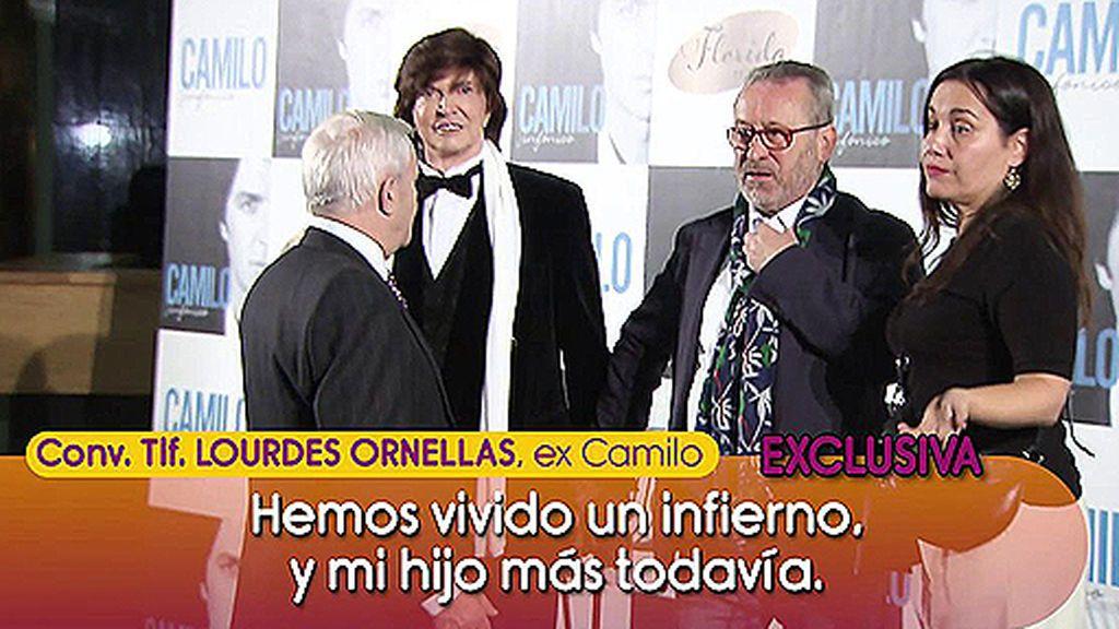 """La ex de Camilo Sesto denuncia que no tiene """"voluntad"""": """"Es un muñeco en manos de este tipo"""""""