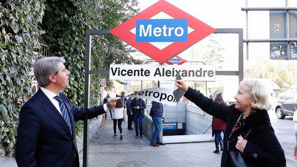 Madrid se quedan si las estaciones de Metropolitano y Atocha, ahora se llamarán Vicente Aleixandre y Estación del Arte