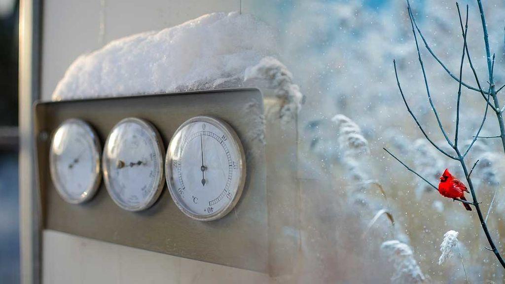 Abrígate y sé precavido: la noche del miércoles se pasó de los -7°C y hay heladas en muchos puntos del país