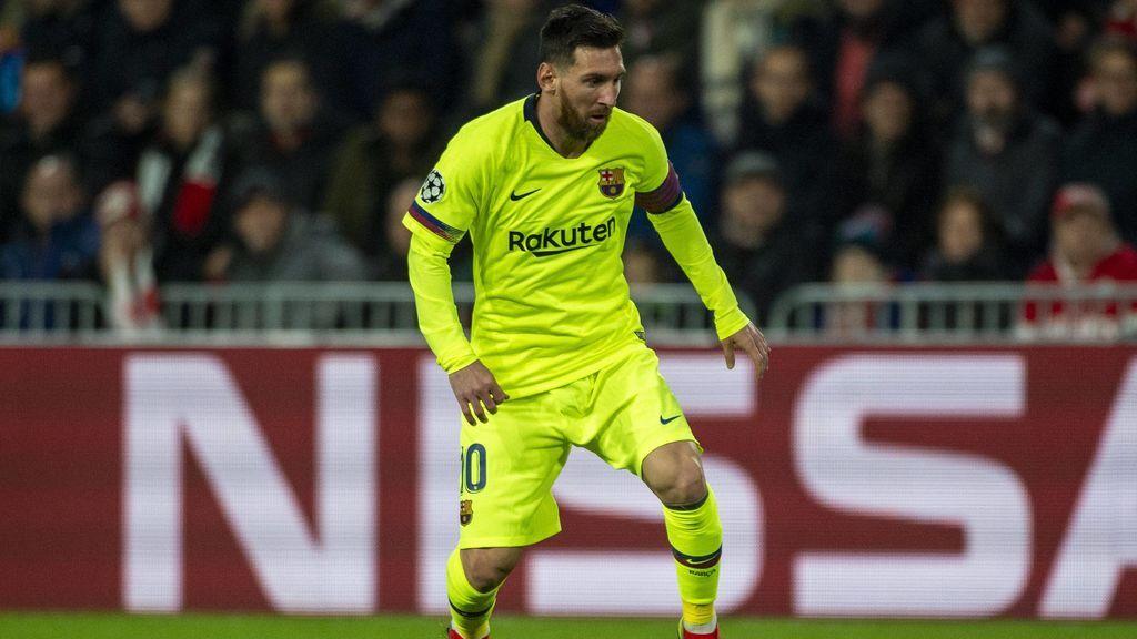 El 'baile' de Leo Messi a la defensa del PSV: el Barça ya está en octavos de la Champions