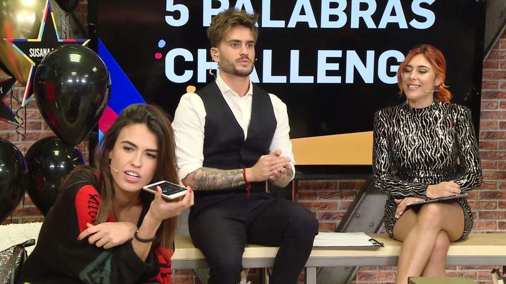 Sofía se la lía a Carolina Sobe y supera el 'cinco palabras challenge'