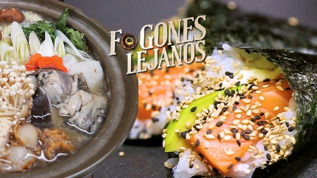 Temakis de sushi, ramen y sopa de miso: 'Fogones lejanos' te enseña a preparar cocina japonesa