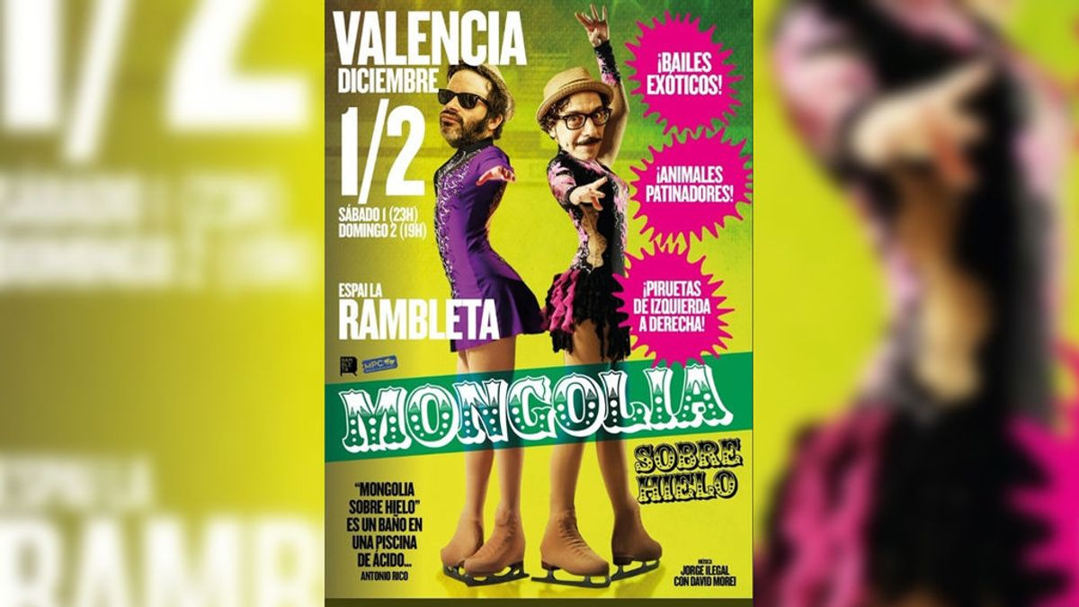 Cancelado en Valencia el espectáculo 'Mongolia sobre hielo' por amenazas a los trabajadores del teatro
