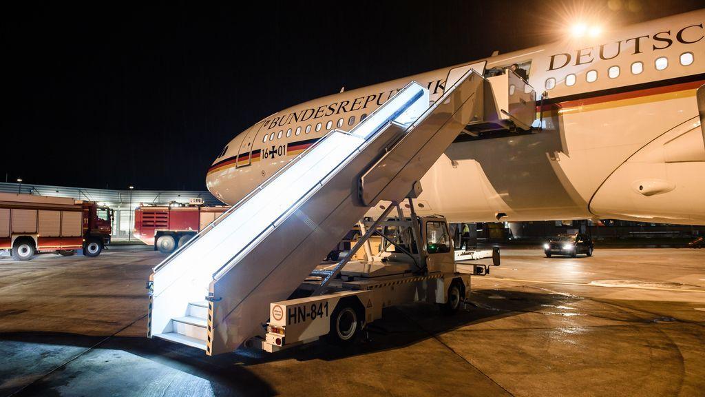 Merkel aterriza de emergencia en Colonia cuando se dirigía al G-20