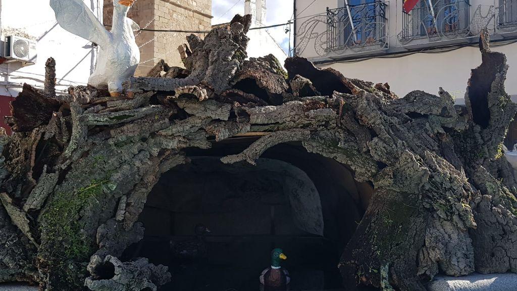 Cueva de corcho
