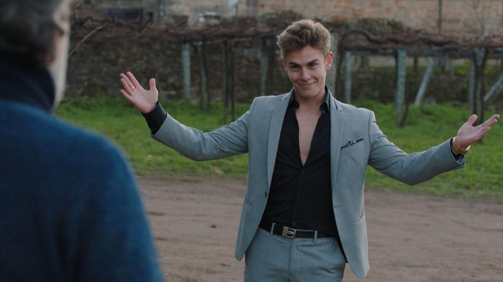 Patrick Criado interpreta a Daniel Arteaga en 'Vivir sin permiso'.