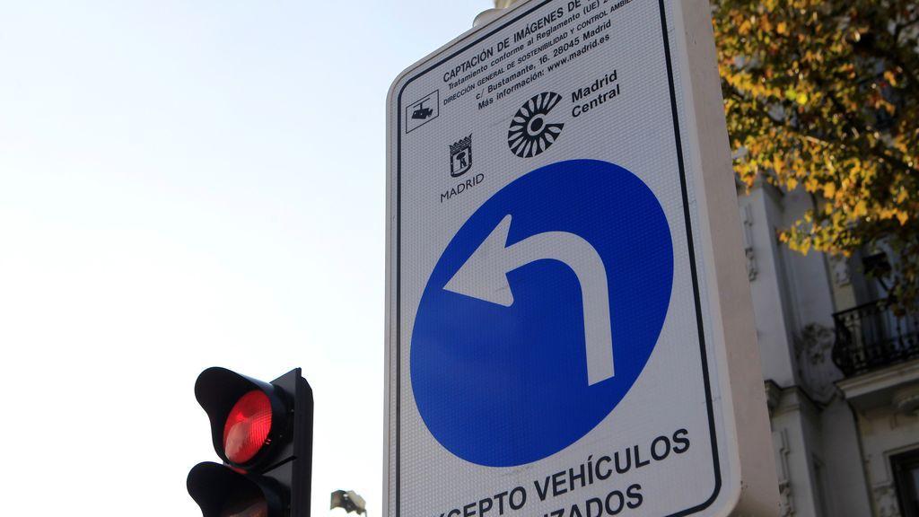 Madrid Central arranca con menos coches en el centro