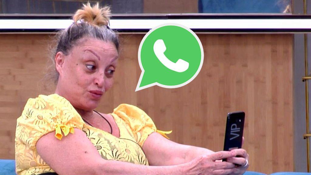 Omar Montes le pide por WhatsApp a Aramís un embrujo de amor para Isa Pantoja