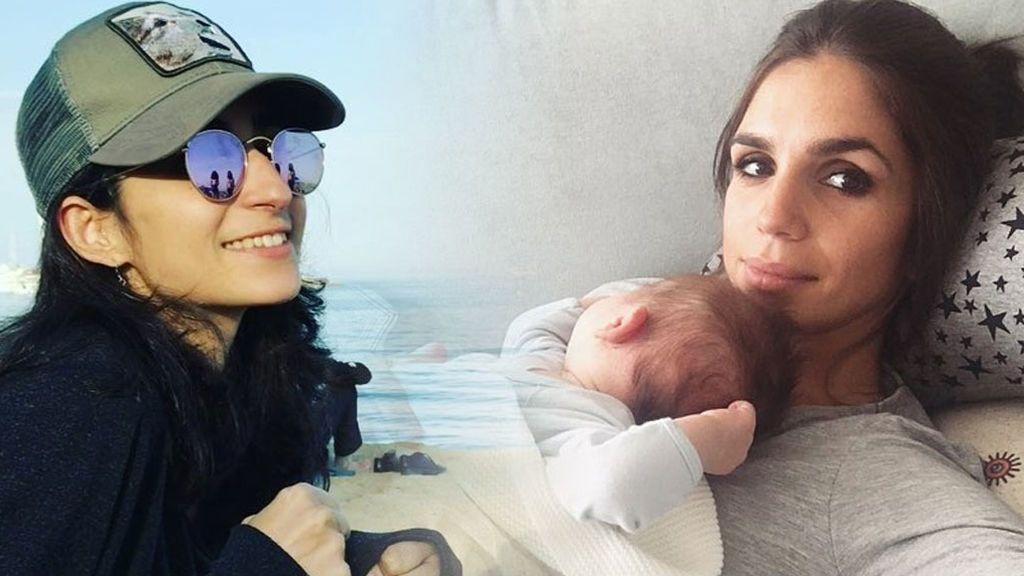 Elena Furiase elige a su prima Alba Flores como madrina de su hijo: