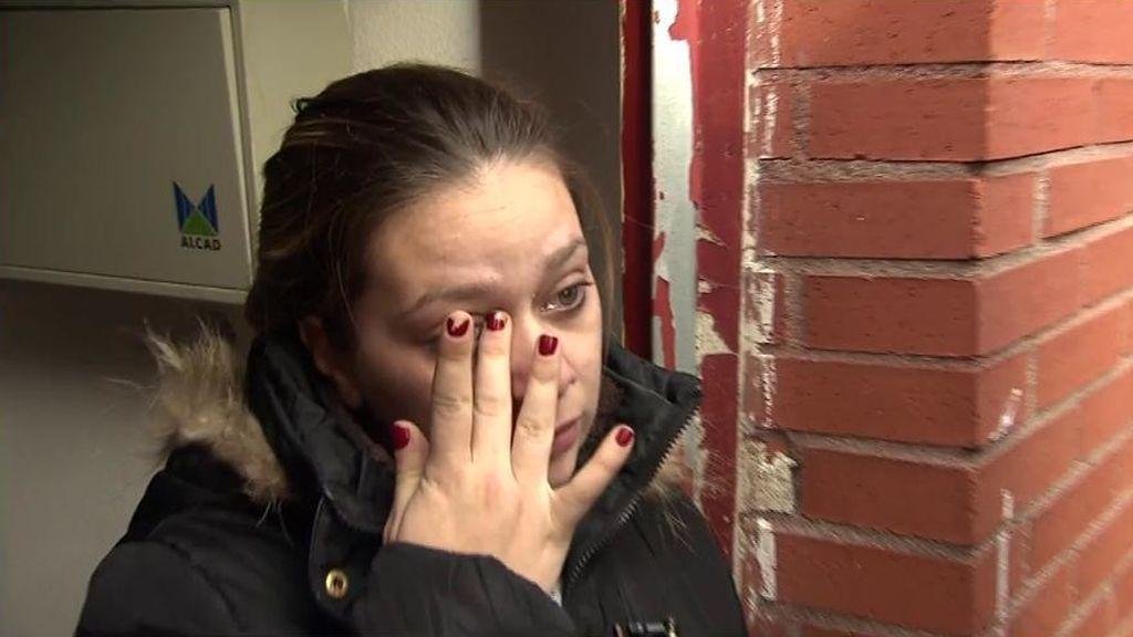 """Raquel, desahuciada junto a su familia: """"Entiendo a la mujer que se ha suicidado"""""""