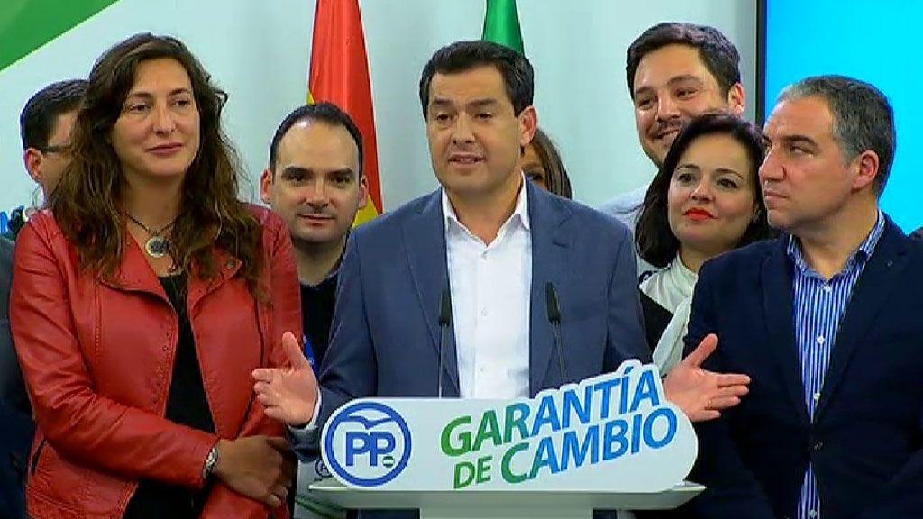 Moreno Bonilla anuncia que se presentará como candidato a la presidencia de Andalucía