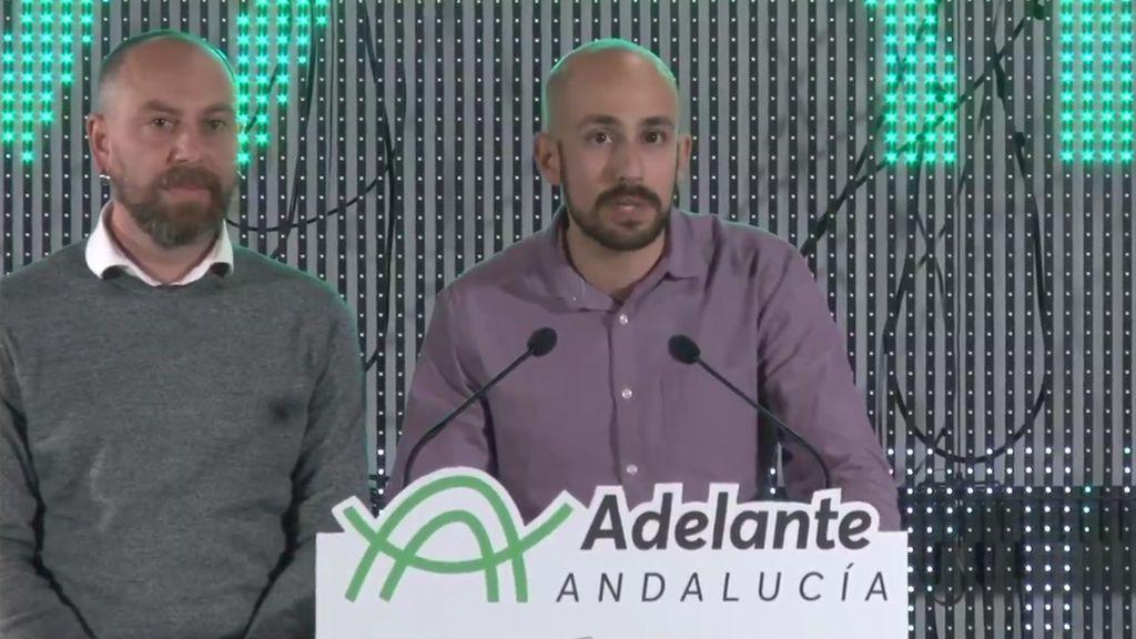 """Adelante Andalucía achaca la baja participación a la """"desafección"""" política tras diez años de crisis y recortes"""