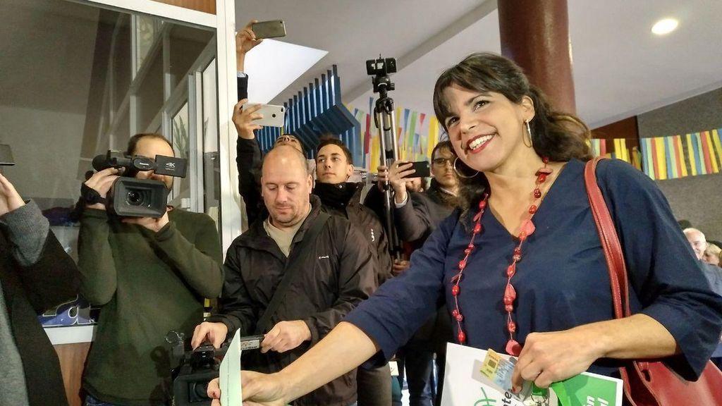 """Teresa Rodríguez desea que """"haya participación masiva"""" porque """"es importante que los andaluces hagan política"""""""