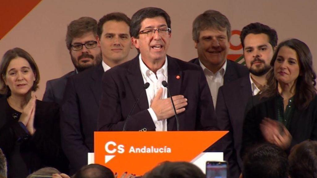 Ciudadanos logra 21 escaños y pide adelanto electoral a Sánchez