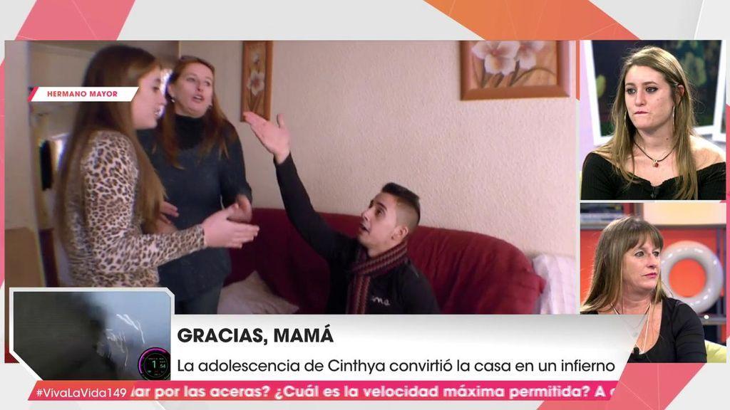 'Gracias, mamá': el mensaje de Cynthia a su madre tres años después de su paso por 'Hermano Mayor'
